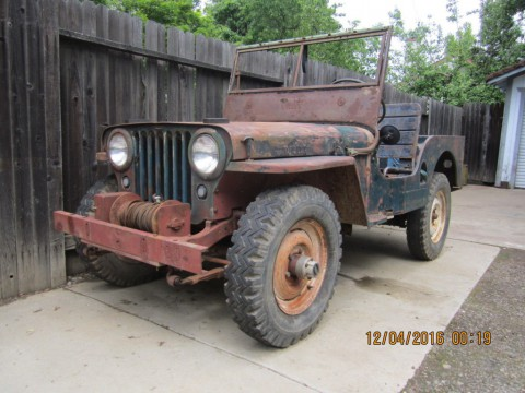 1946 Willys Jeep for sale