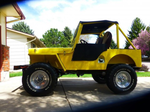1948 Jeep/Willys CJ3A for sale