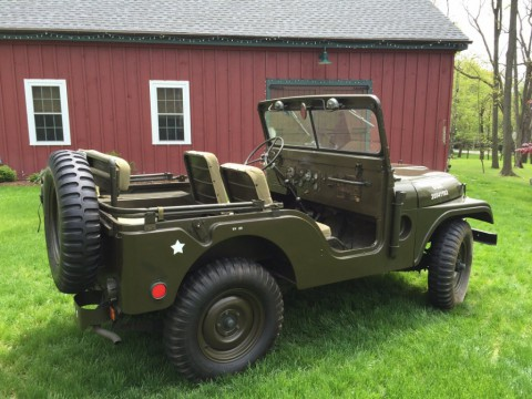 1954 Jeep Willys M38A1 for sale