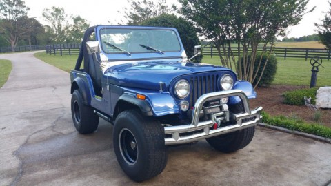 1976 Jeep CJ5 Corvette 350 engine for sale