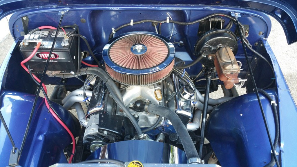 1976 Jeep CJ5 Corvette 350 engine