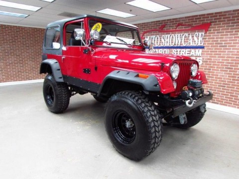 1980 Jeep Wrangler CJ7 for sale
