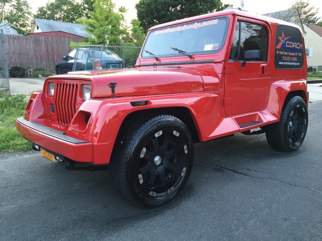 1992 Jeep Wrangler RENEGADE/ YJ