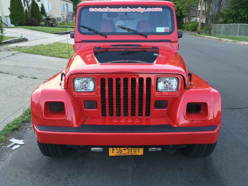 1992 jeep wrangler renegade yj for sale. Black Bedroom Furniture Sets. Home Design Ideas