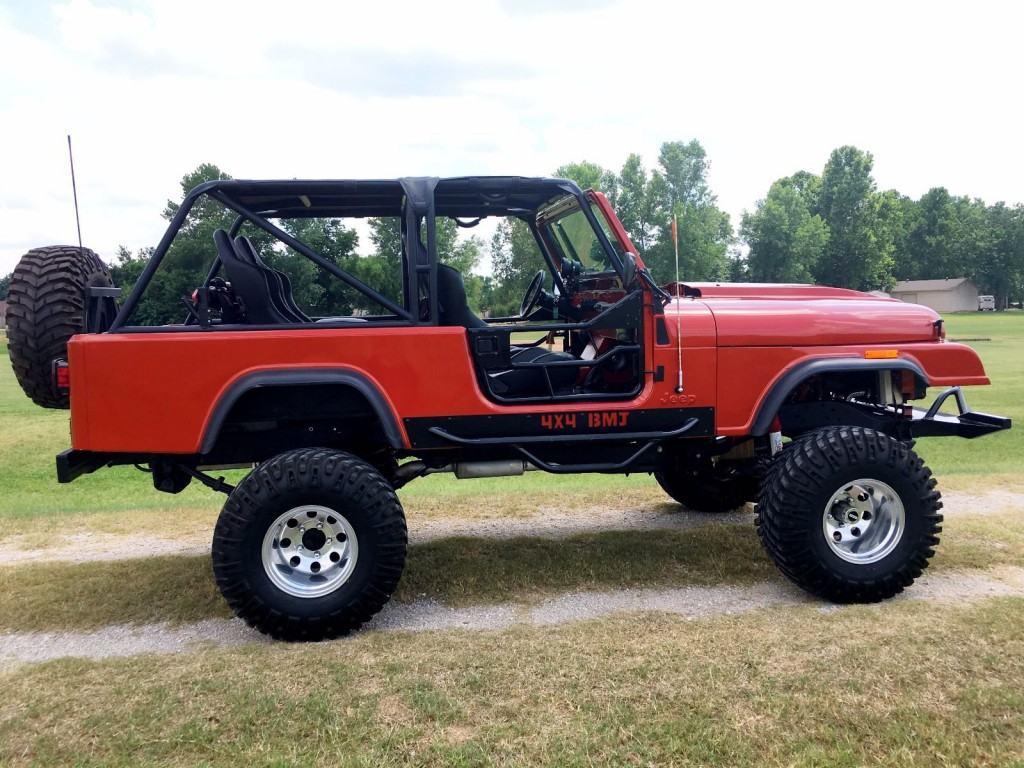 1983 Jeep Wrangler Scrambler Lifted