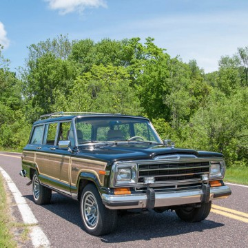 1991 Jeep Wagoneer Final Edition Model for sale
