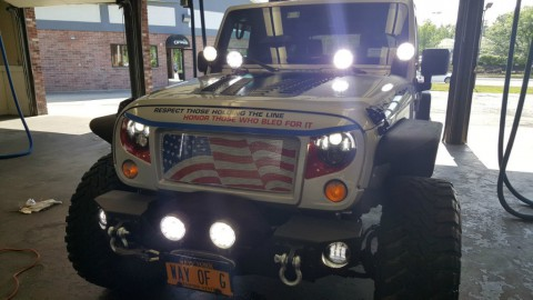 2011 Jeep Wrangler Unlimited Sahara LIFTED for sale