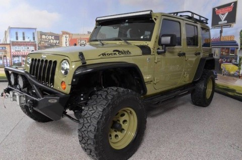 2013 Jeep Wrangler Sahara Rock Creek Edition for sale