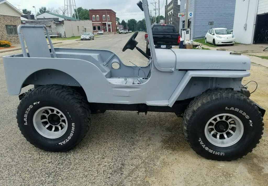 Jeep Wrangler V8 2017 >> 1947 Willys CJ2A for sale