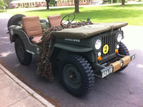 1948 Jeep Willys CJ for sale