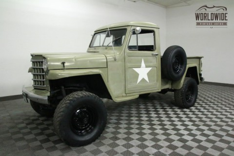 1952 Jeep Willys PICKUP V8! 4X4! for sale