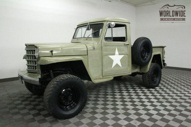 1952 jeep willys pickup v8 4x4 for sale. Black Bedroom Furniture Sets. Home Design Ideas