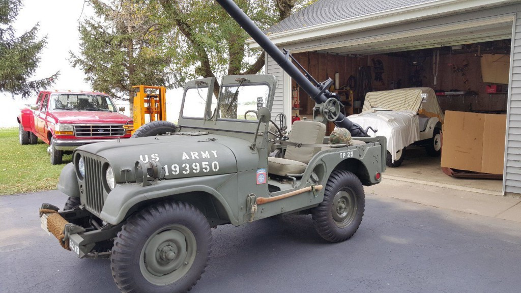 1952 Jeep with 106mm recoilless rifle