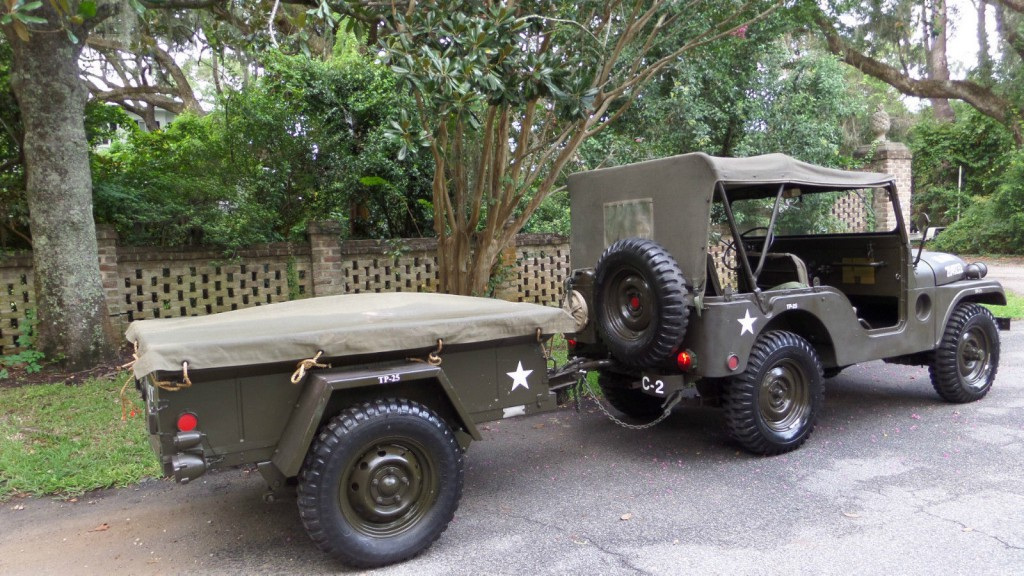 1952 Willys JEEP M38A1