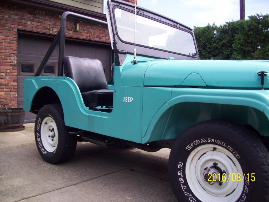 1961 Jeep CJ5