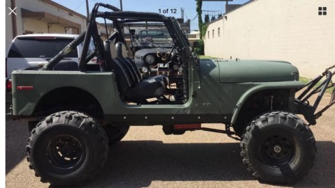 1985 Jeep CJ7 V8 for sale