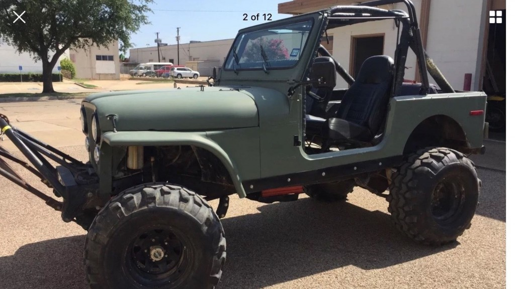 1985 Jeep CJ7 V8