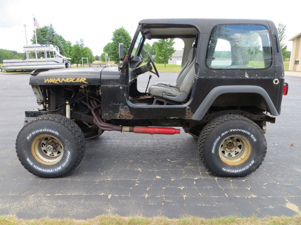 1995 Jeep Wrangler 360 V8 Off Road Project