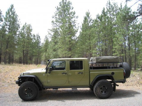 2013 Jeep Wrangler Rubicon Double Cab Pickup Brute for sale