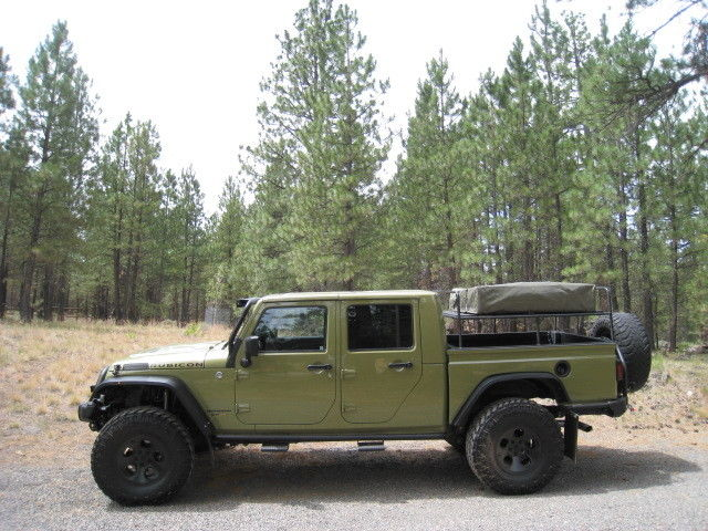 2013 jeep wrangler rubicon double cab pickup brute for sale. Black Bedroom Furniture Sets. Home Design Ideas