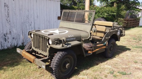 1943 Willys MB Military Jeep for sale