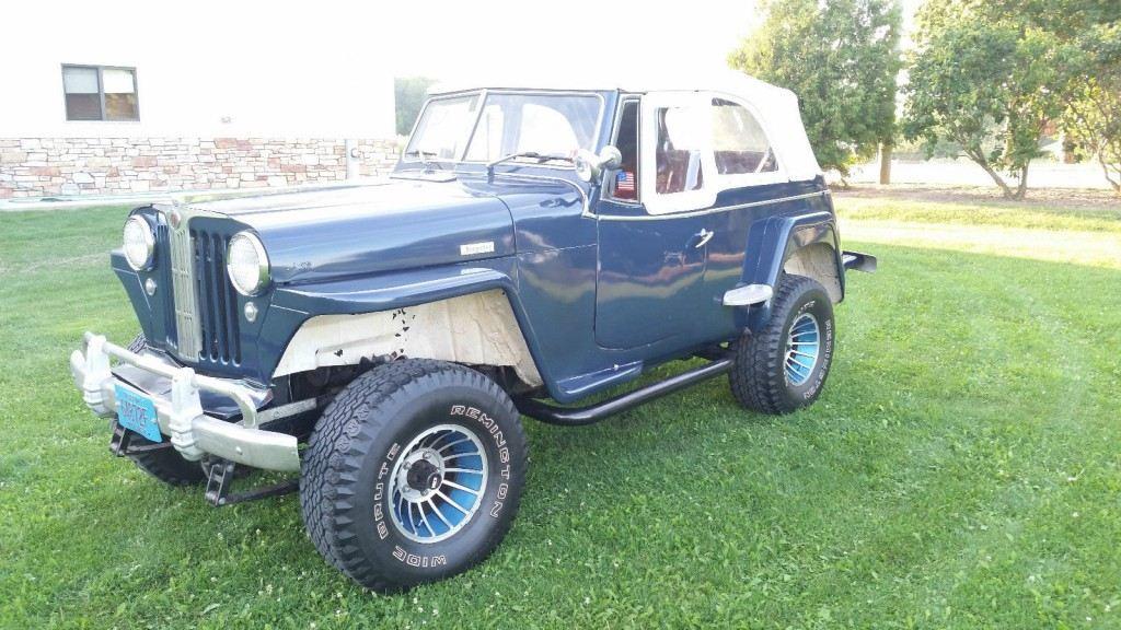 1948 Jeep Jeepster Scrambler