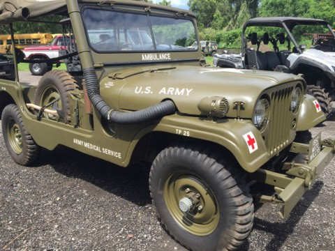 1952 Willys Jeep M-170 Military Ambulance Jeep for sale