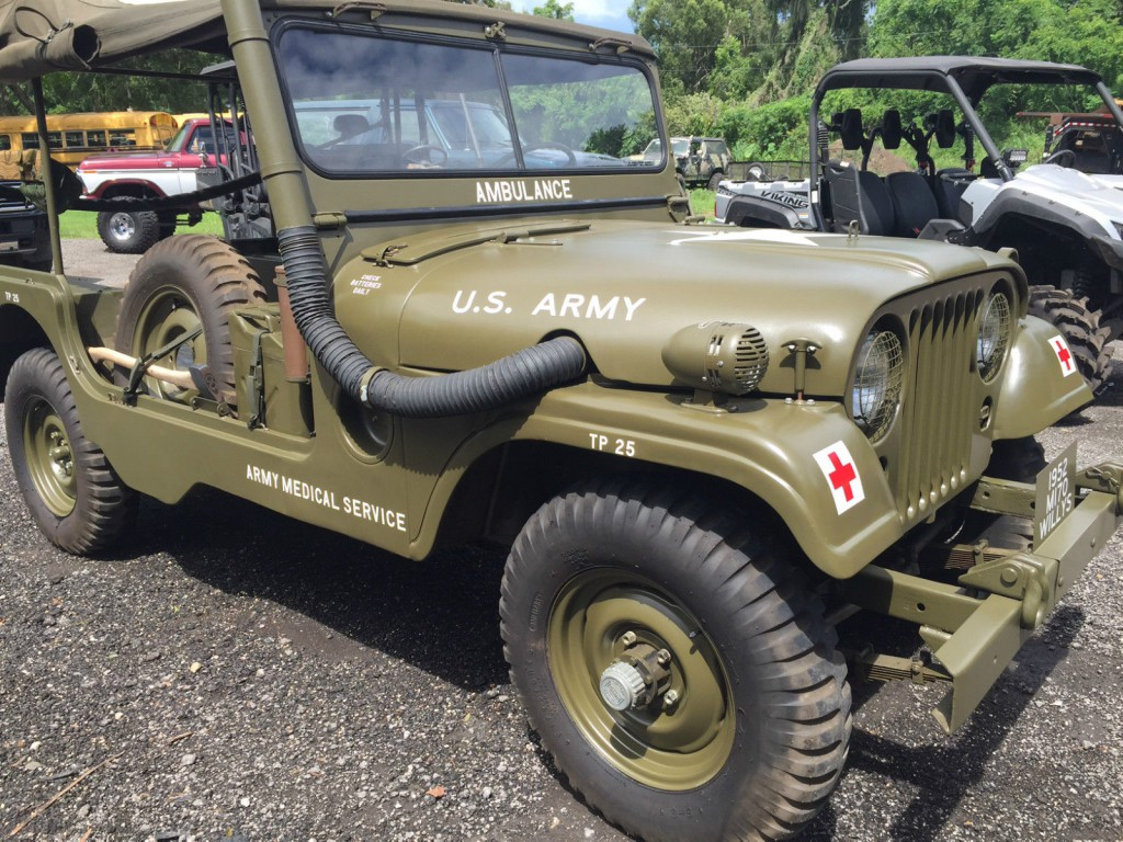 1952 willys jeep m 170 military ambulance jeep for sale. Black Bedroom Furniture Sets. Home Design Ideas