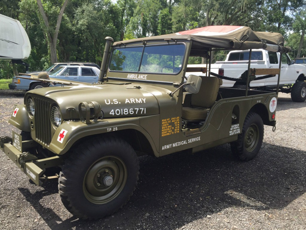 1952 Willys Jeep M-170 Military Ambulance Jeep