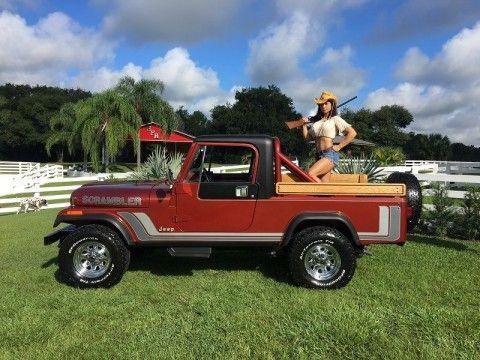 1984 Jeep CJ Cj8 Scrambler for sale