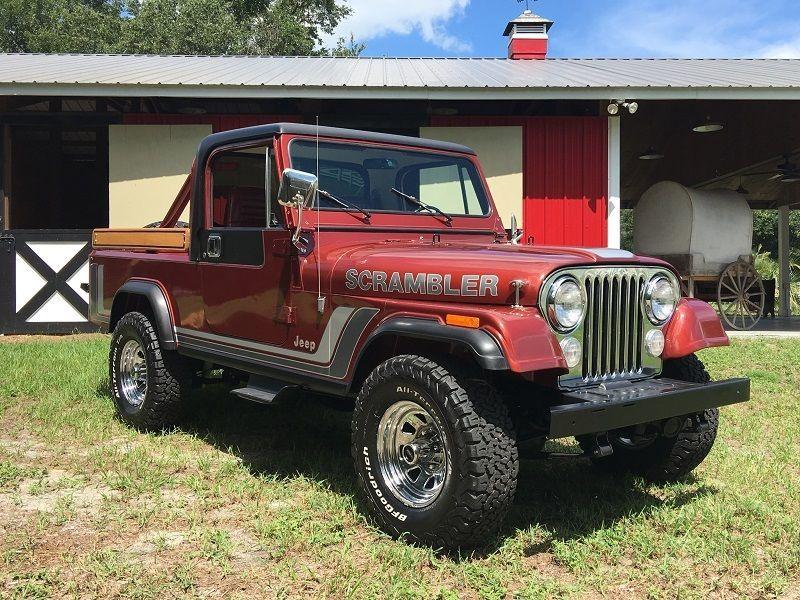 1984 Jeep CJ Cj8 Scrambler