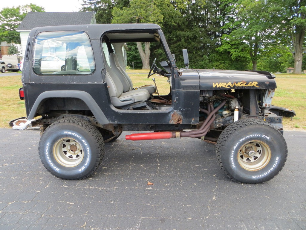 1995 Jeep Wrangler 360 V8 Off Road Project / Toy