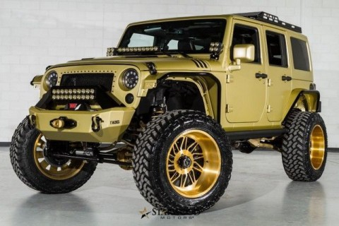 2015 Jeep Wrangler SEMA Starwood for sale