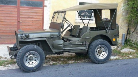 1945 Jeep Willys obnovený do původního stavu for sale