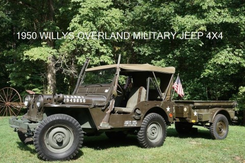 1950 Jeep Willys BUILT WITH WATERPROOF ENGINE AND 24V EL for sale