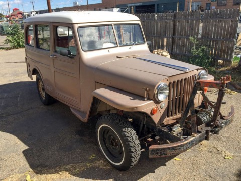1950 Jeep Willys Wagon for sale