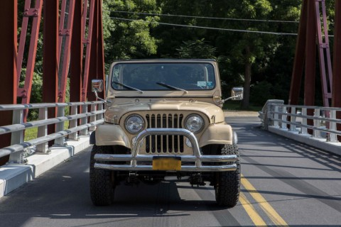 1976 Jeep CJ7 V8 Quadratrac for sale