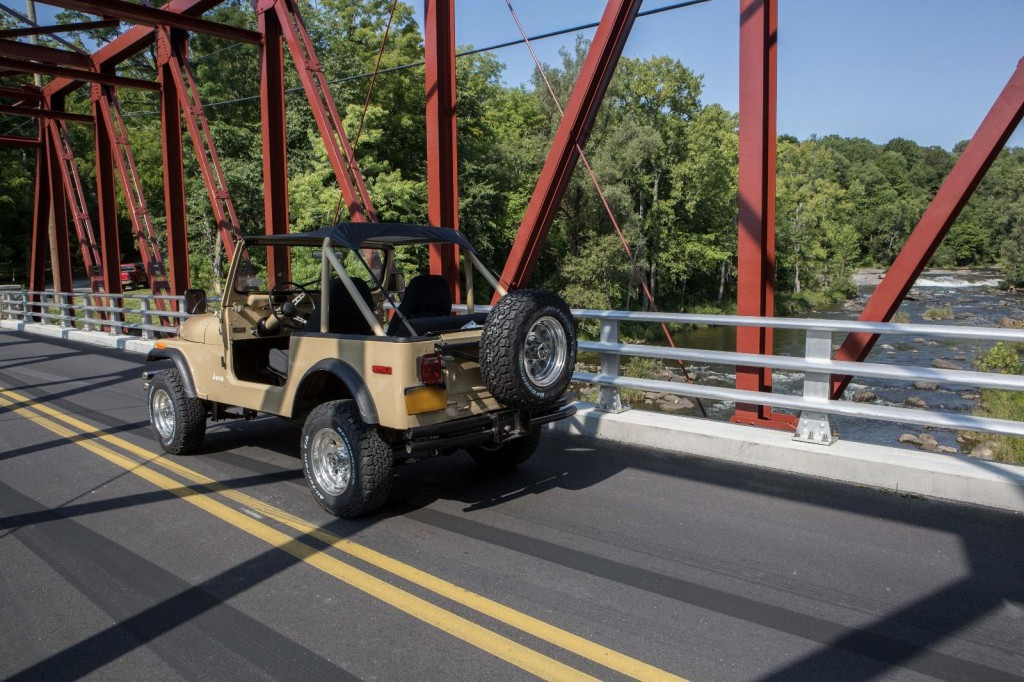 1976 Jeep CJ7 V8 Quadratrac