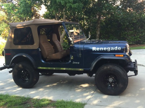 1980 Jeep CJ7 for sale