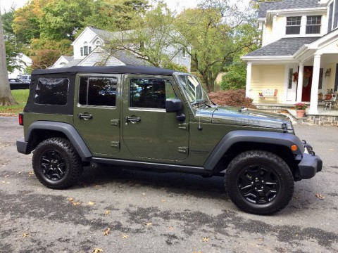 2015 Jeep Wrangler Unlimited Willys Wheeler Edition for sale