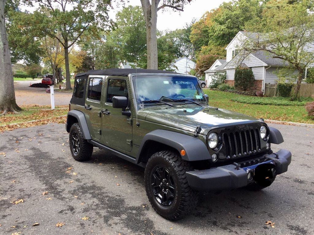 2015 jeep wrangler unlimited willys wheeler edition for sale. Black Bedroom Furniture Sets. Home Design Ideas