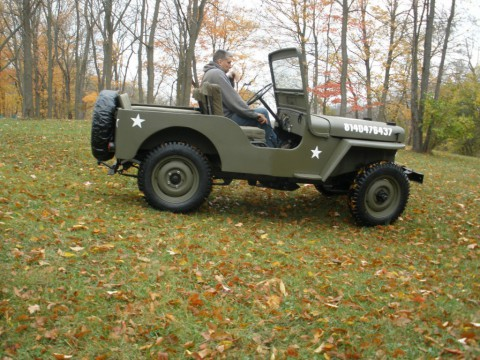 1946 Willys CJ2A Military STYLE for sale