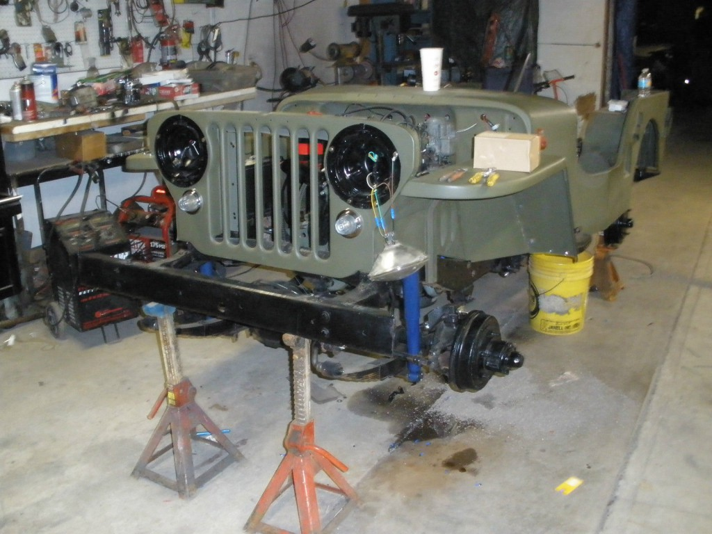 1946 Willys CJ2A Military STYLE
