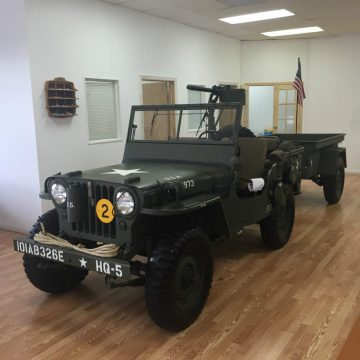 1947 Willy's Jeep Military Equipped for sale