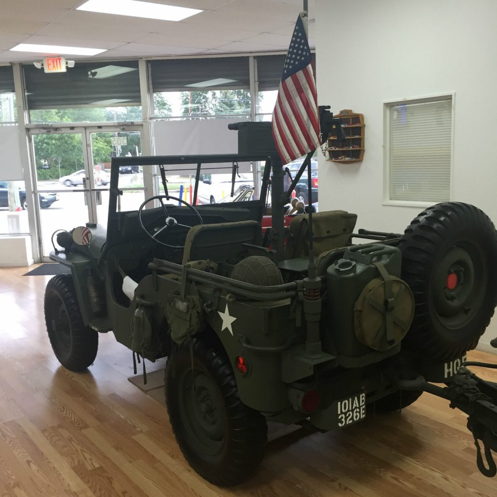 1947 Willy's Jeep Military Equipped