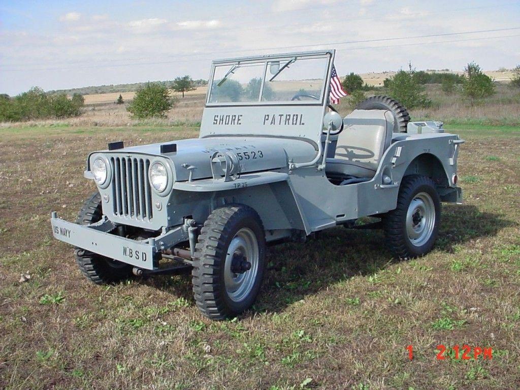 1948 Willys CJ2A Navy