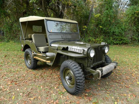 1951 Jeep Willys Overland M38 Military Jeep for sale