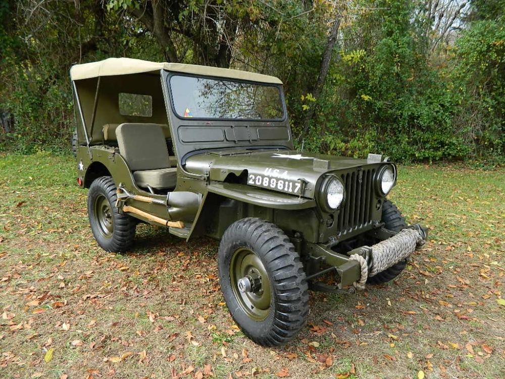 1951 Jeep Willys Overland M38 Military Jeep