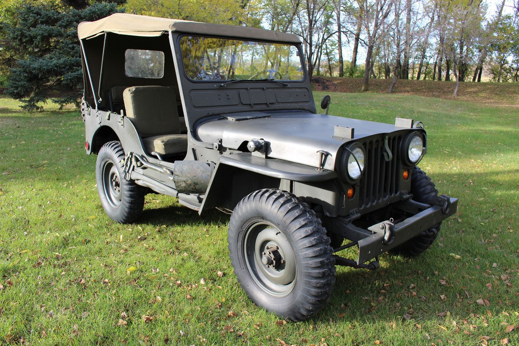 1952 WILLY JEEP M38 BUILT BY FORD