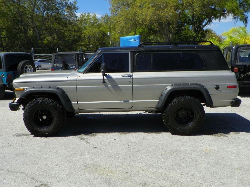 1979 Jeep Cherokee SJ Chief Wide body